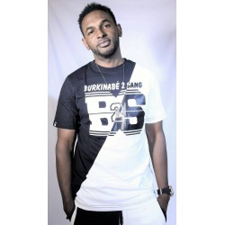 Tee-shirt B2S Noir-Blanc